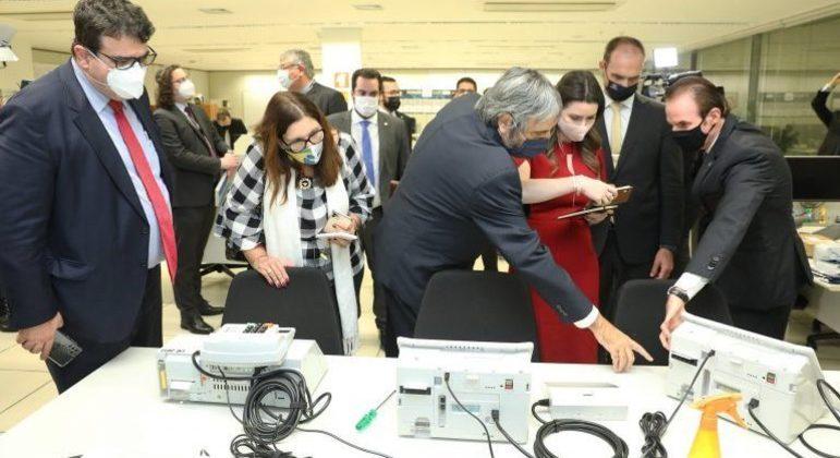 TSE apresentou sistema eletrônico de votação à comissão especial em 21 de junho