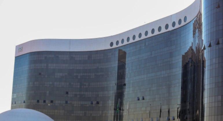 Sede do Tribunal Superior Eleitoral (TSE), em Brasília (DF)