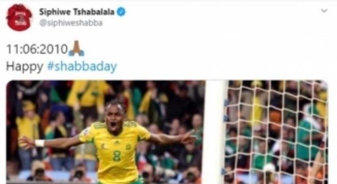 Tshabalala - África do Sul - Copa do Mundo 2010