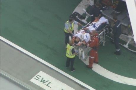Alejandro Travaglini teve de ser hospitalizado
