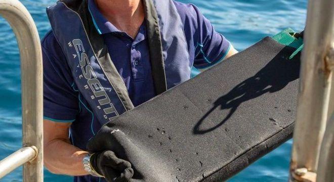Neoprene reforçado pode salvar a vida de um mergulhador em um ataque de tubarão