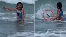 Tubarão quase atropela garotinha: 'Minha alma deixou meu corpo'