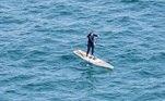 Umpaddleboarder (um adepto dopaddleboard, esse