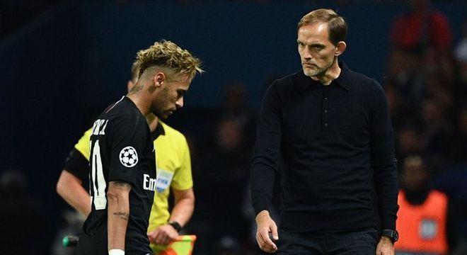 Neymar terá de se explicar ao técnico e ao grupo. Ele expôs o PSG