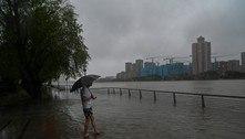 Xangai cancela todos os voos por chegada do tufão In-fa