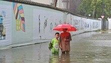 Tufão In-Fa atinge o leste da China após inundações devastadoras