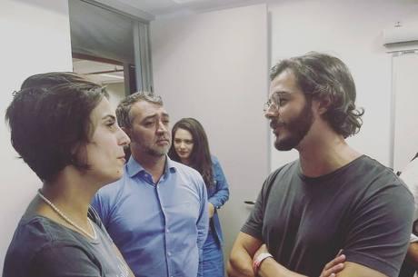 Túlio Gadelha mostrou no Instagram que está no Sindicato no ABC