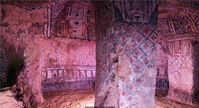 As 162 tumbas subterrâneas de Tierradentro foram esculpidas em rocha vulcânica sólida séculos atrás