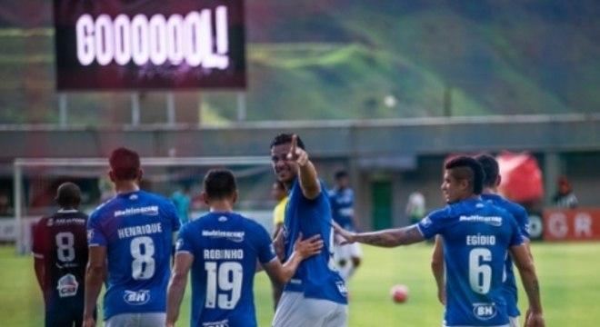 Tupi x Cruzeiro Comemoração