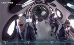 A decolagem aconteceu às 11h30 (horário de Brasília) no Spaceport America, em Los Cruces, no estados do Novo México (EUA), e retornou às 12h44. Inicialmente o voo estava previsto para as 10h, mas teve quer ser adiado por causa do clima