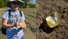 Turista acha diamante avaliado em R$ 55 mil durante visita à parque