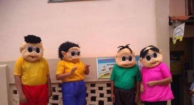 Após Meme Escola Recebe Visita Da Turma Da Mônica Original