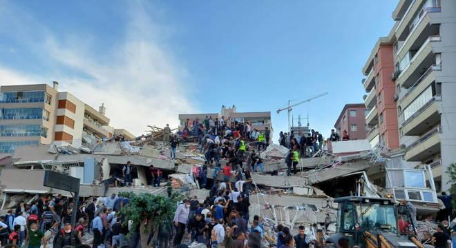 Terremoto no mar Egeu faz tremer cidades na Turquia e na Grécia
