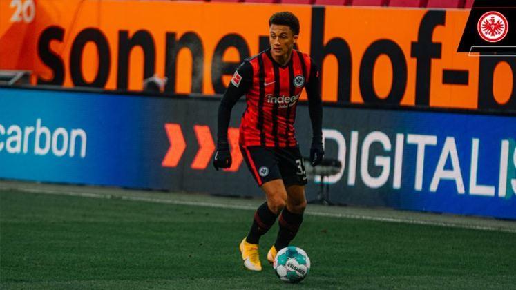 Tuta - Time: Eintracht Frankfurt (Alemanha) - Posição: Zagueiro - Idade: 21 anos - Contrato até: 30/06/2023