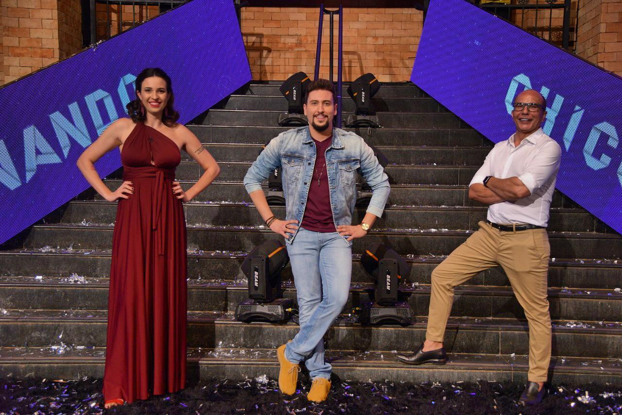 Taty Ferreira,  Tarcis Duarte e Dione Borges