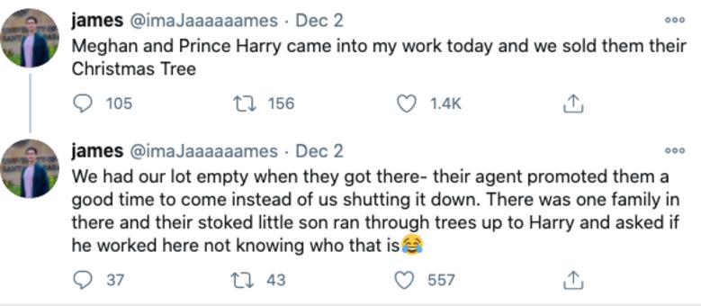O vendedor do local contou no Twitter como tudo aconteceu
