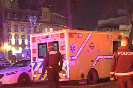 Polícia pediu que população fique em casa