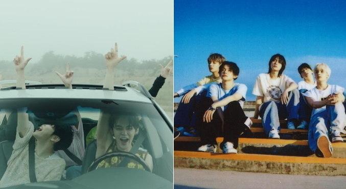 Integrantes do TXT saem pela estrada no clipe de 'LO$ER=LO♡ER'