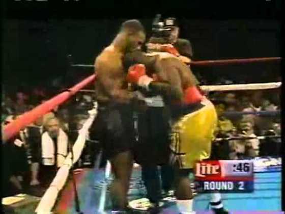 Tyson viveu uma das melhores noites de sua carreira em 16 de dezembro de 1995. Após diversos rumores e cancelamentos, o ex-campeão nocauteou Buster Mathis Jr no terceiro round em uma atuação histórica, na Filadélfia