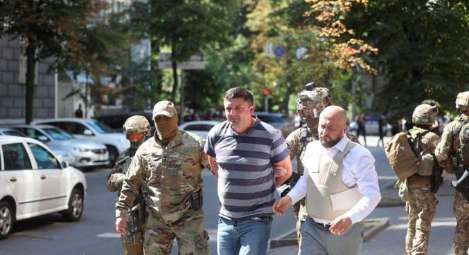 Homem ameaçou explodir granada em sede do governo da Ucrânia