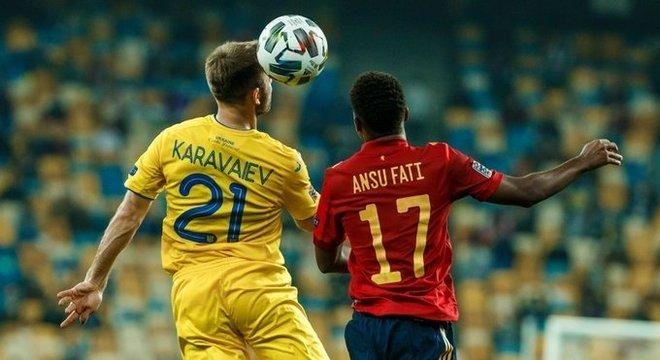 Ucrânia 1 X 0 Espanha
