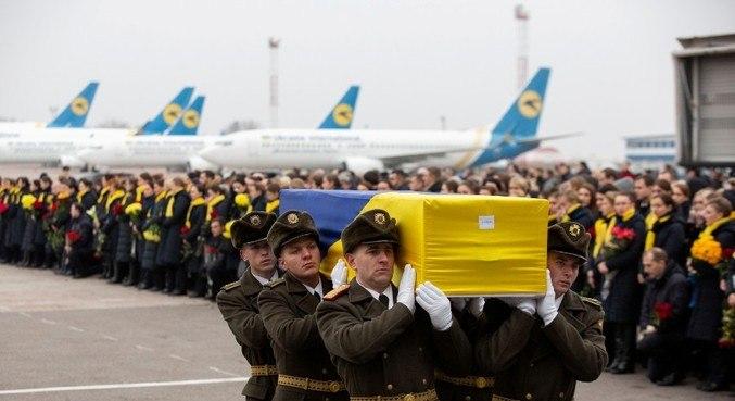 Os 176 ocupantes do avião morreram após o ataque com um foguete terra-ar