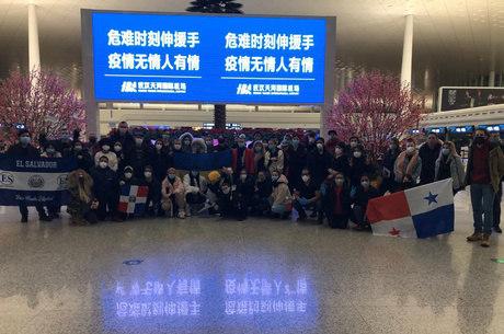 Grupo deixou Hubei, epicentro do surto de Covid-19