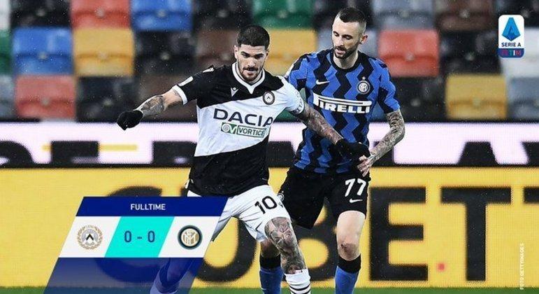 No Fríuli, a Udinese segura a Inter vice-líder