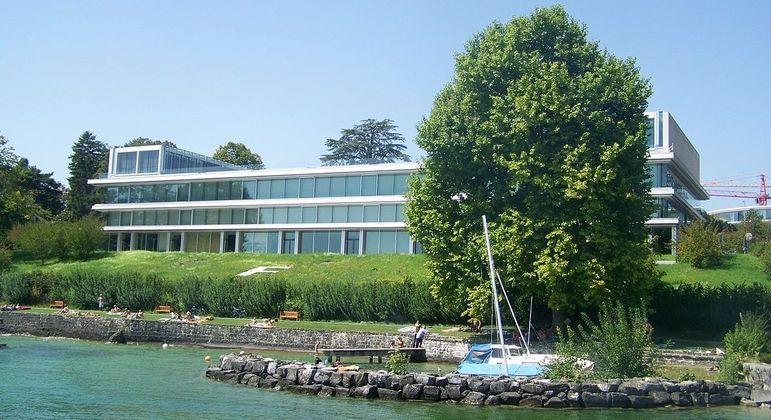 O magnífico QG da UEFA, em Nyon, Suíça