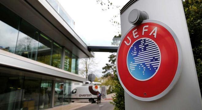 A sede da UEFA, em Nyon, Suíça
