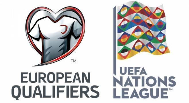 Os logos dos dois certames continentais