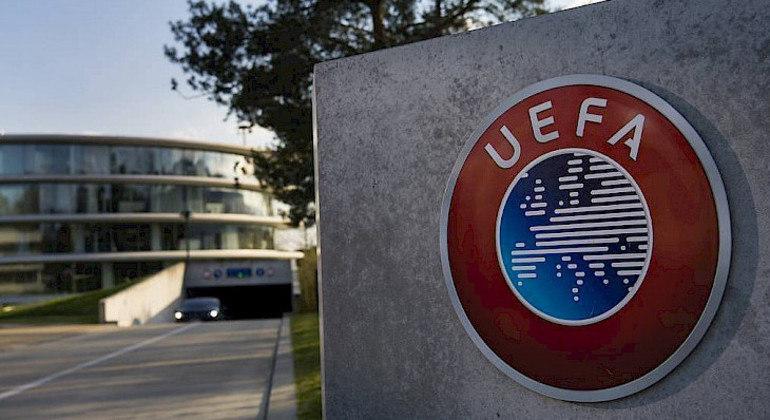 A sede da UEFA, em Nyon, na Suíça