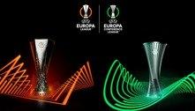 Na UEFA, todos os resultados da Liga Europa e da Liga Conferência