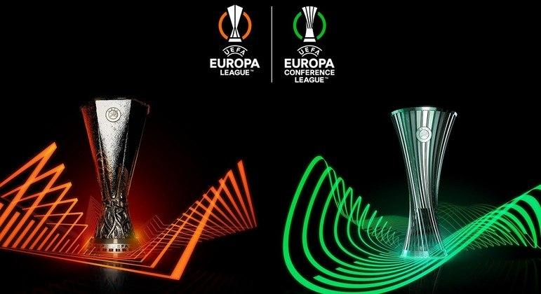 As duas taças, da Europa League e da Conference League