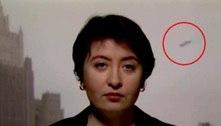Ufólogo afirma que óvnis flagrados durante noticiário 'não foi acidente'
