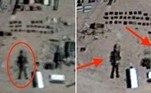 O caçador de OVNIsScott C. Waring acredita ter encontrado um robô com 16 m de altura na Área 51 — base da Força Aérea dos EUA no estado de Nevada. Como de costume, a descoberta do teórico da conspiração foi feita por meio do Google Earth