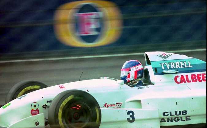 Ukyo Katayama é o recordista de corridas entre os japoneses. 95 entre 1992 e 1997