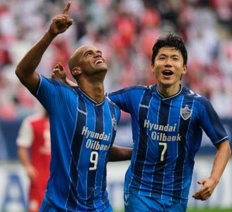 Ulsan Hyundai - Campeão continental asiático, o clube sul-coreano chega com esperanças para disputar o Mundial de Clubes e tentar ser uma zebra em uma eventual final do torneio.