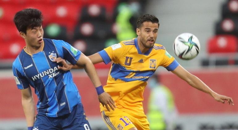 O time mexicano mostrou muitas falhas. Mesmo contra o fraquíssimo time coreano