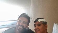 Foto de Maradona vira confusão entre médico e familiares do craque