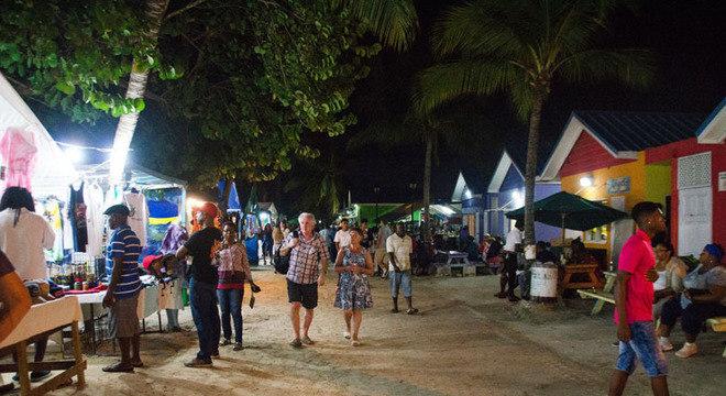 Um ambiente simples, mas que representa bem a cultura barbadiana.
