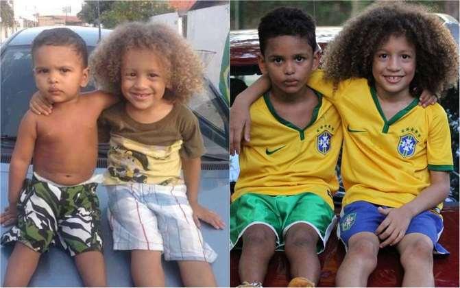 Um clássico exemplo que viralizou na Copa de 2014 foram as crianças iguais a Thiago Silva e David Luiz, dupla de zaga titular do Brasil na ocasião. Foi um dos casos de mais sucesso até hoje.