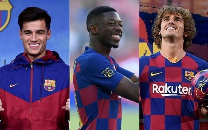 Um dos clubes mais ricos do mundo, o Barcelona já fez dezenas de negociações que estremeceram o mundo do futebol. Veja na galeria o top 15 das contratações mais caras da história do Barça. Os valores foram retirados do site