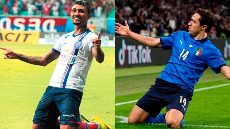Um dos destaques da Seleção Italiana na Eurocopa, Chiesa tem o nome com a mesma pronúncia que Kieza, experiente atacante do Náutico. Nas redes sociais, fato tem sido prato cheio para brincadeiras. Confira! (Por Humor Esportivo)