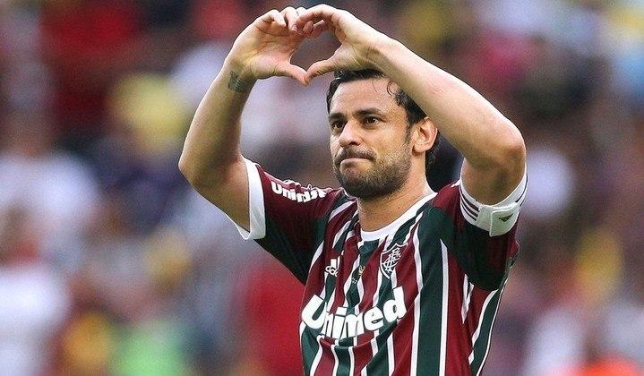 Um dos maiores ídolos da história do Fluminense, Fred soma 18 gols em 33 jogos. Ele também atuou por Cruzeiro e Atlético Mineiro.