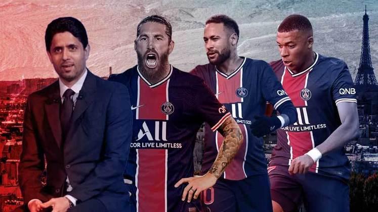 Um dos times mais poderosos do mundo atualmente, o Paris Saint-Germain está completando dez anos sob o comando de Nasser Al-Khelaïfi. Dono da equipe francesa desde 2011, o empresário do Qatar mudou o patamar do PSG com muito investimento em contratações de peso. Conheça um pouco mais do dirigente e relembre as contratações feitas por ele em ordem cronológica: