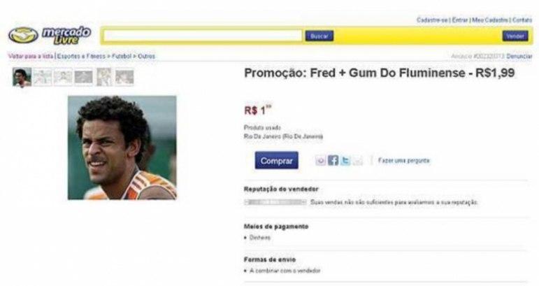 Um torcedor irritado do Fluminense decidiu fazer uma promoção