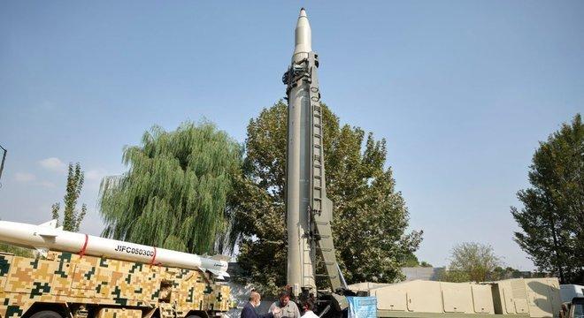 O Irã tem o maior e mais diverso arsenal de mísseis balísticos do Oriente Médio