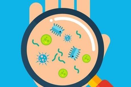O gel não mata todos os germes e micróbios