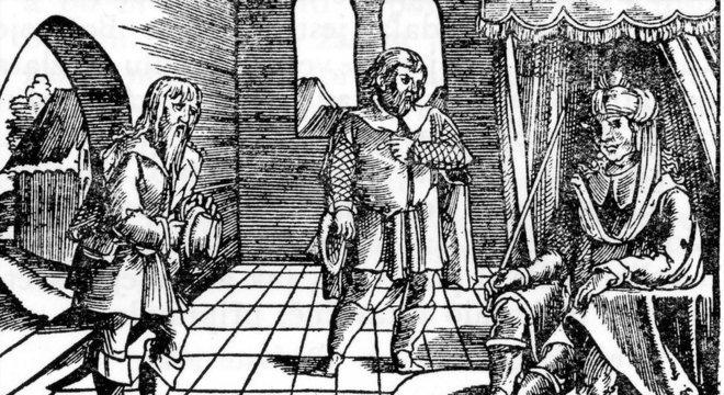 Uma ilustração, feita no século 19, retrata Borivoj I, duque da Boêmia e fundador da dinastia Premyslid, que governou a região de 895 a 1306